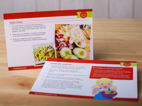Recipe + Activity Kit with Chef Martin Lopez