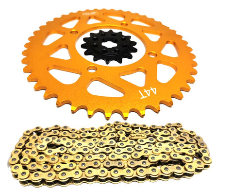 KRP 415 Chain and Sprocket Upgrage Kit for Kayo MR150 Minigp