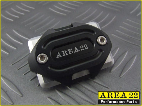 Area 22 -2014 2015 Honda MSX125 Grom CNC Aluminum Brake Reservoir Cover Black