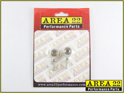 Area 22 Performance Rear Set Spare Shift Rod Rose Joints Set Rearsets