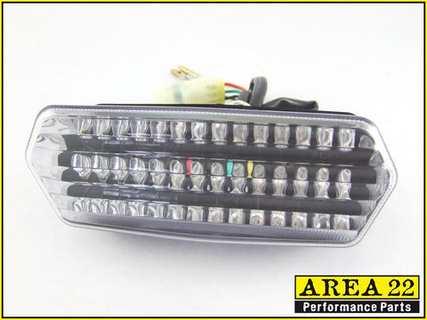 Area 22 Honda MSX125 Grom LED Rear Integrated Tail Light-Clear