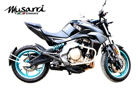 Kawasaki ER6 2005-2011 - Musarri Street Series GP Slip-on Exhaust