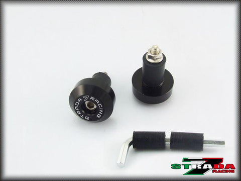 Strada 7 Racing CNC Handle Bar Ends For Aprilia Motorcycles