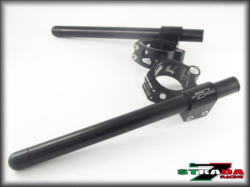 Strada 7 Racing RAISED 50mm CNC Clip On Handle Bars