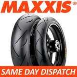 Maxxis Supermaxx SPORT MAPS Motorcycle Tyres Set