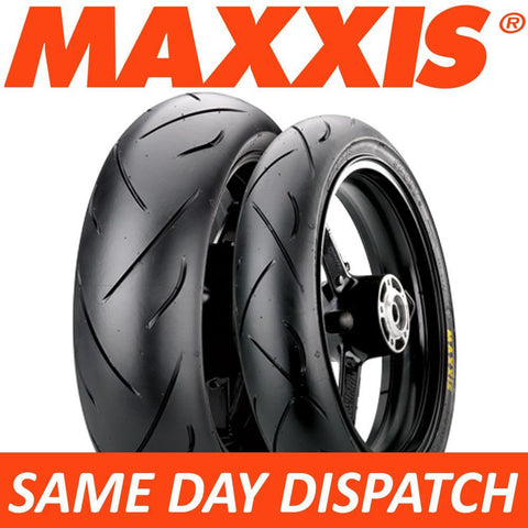 Maxxis Supermaxx SPORT MA-PS Motorcycle Tyre Set 120/70-17 + 180/55-17