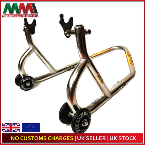 FULL-REV RACING Pro Heavy Duty REAR Motorcycle Paddock Stand  x 2