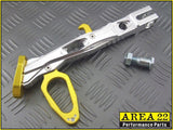 Area 22 Side Stand / Kick Stand for Honda MSX125 - Gold / Chrome