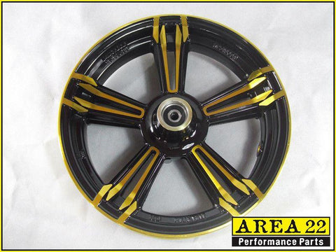 Area 22 - 2014 2015 Honda MSX125 Grom Type 2 Custom Wide Mag Wheels Rims Gold