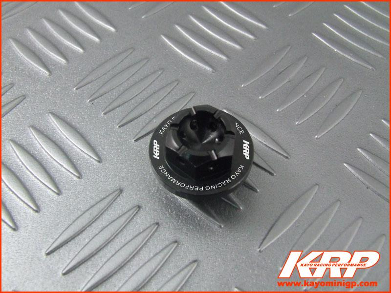 KRP-CNC Aluminium Oil Filler Cap - Black for Kayo MiniGP MR150