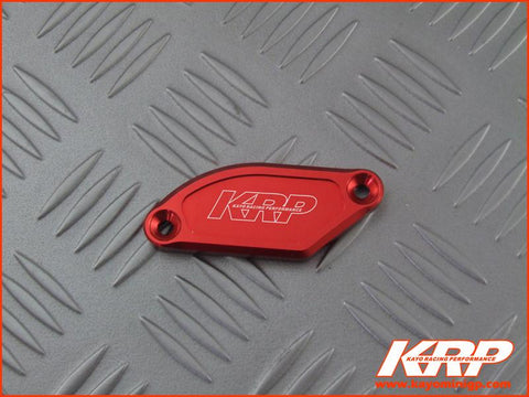 KRP-Red Aluminium Front Brake Master Cylinder CNC Cover for Kayo MiniGP MR150 MR250