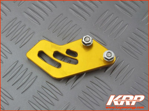 KRP-CNC Aluminium Rear Sprocket Guard Gold for Kayo MiniGP MR150 MR250