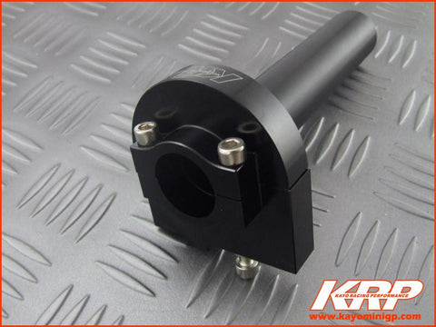 KRP-CNC Aluminium Quick Throttle-Black for Kayo MiniGP MR150 MR250