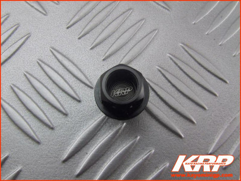 KRP-CNC Aluminium Oil Drain Bolt - Black for Kayo MiniGP MR150