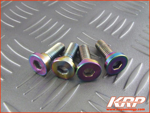 KRP-Stainless Steel Front Brake Disc Bolts x 4 for Kayo MR150