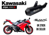 Kawasaki Ninja 250R 2008-2012 Musarri GP Street Series Slip-on Exhaust