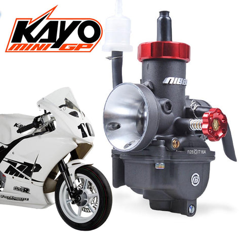 NIBBI PE28mm High Performance Racing Carburetor kit for Kayo MR150