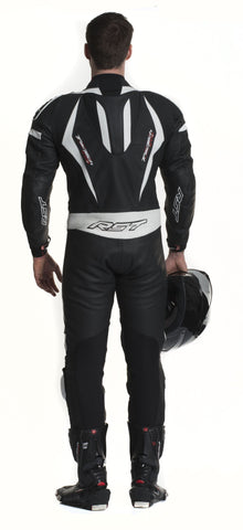RST TRACTECH EVO II M LEATHER ONE PIECE SUIT White