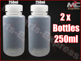 250ml x 2 Motorcycle Overflow Expansion Catch Tank Radiator bottles