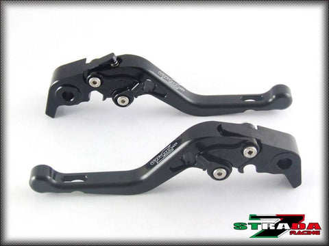Strada 7 Racing Short CNC Adjustable Levers Brake and Clutch Levers (7 Colours)