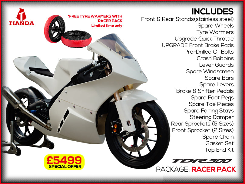 Tianda TDR300 Race Bike - RACER PACKAGE