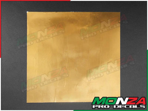 Gold Reflective Adhesive Heat Shield Material (Choose Size)
