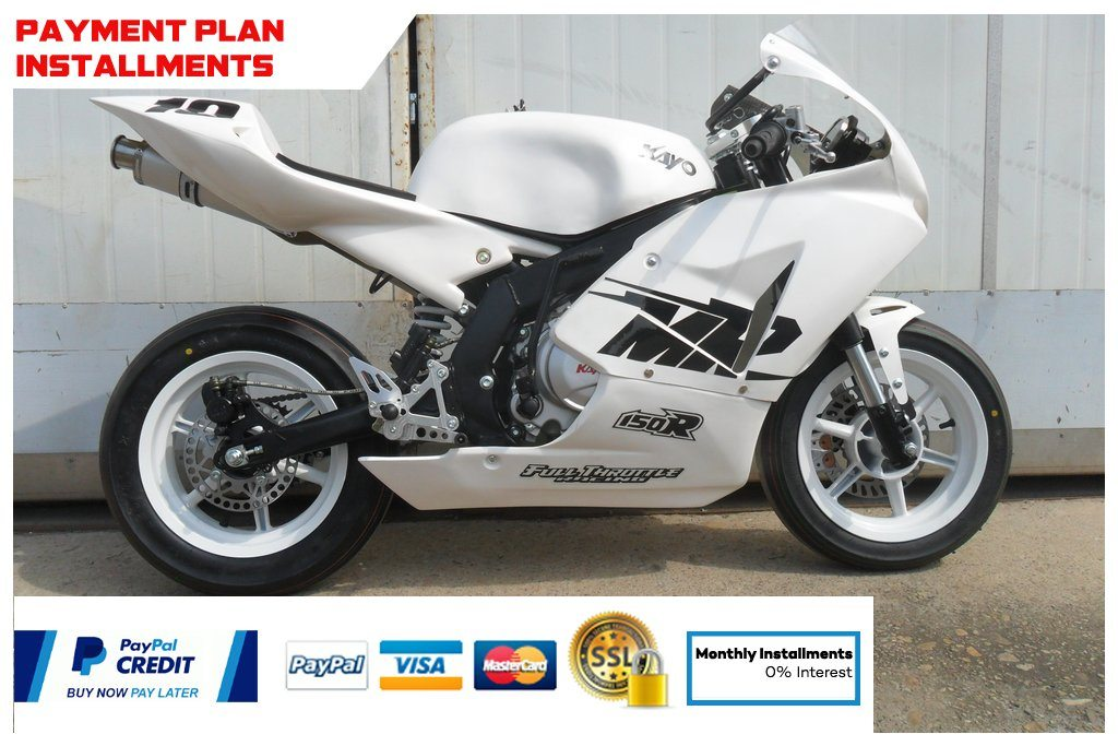 Kayo MR150 MiniGP Motorcycle-PAYMENT PLAN (INSTALLMENTS)