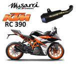 Musarri GP Street Series Slip-on Exhaust KTM 390 2017-2018 Black