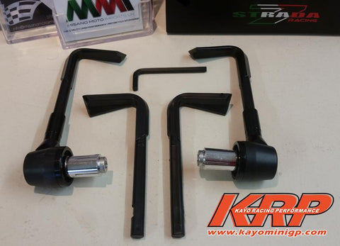 KRP-Lever Guards Black for Kayo MR150 MR250 Minigp Motorcycle