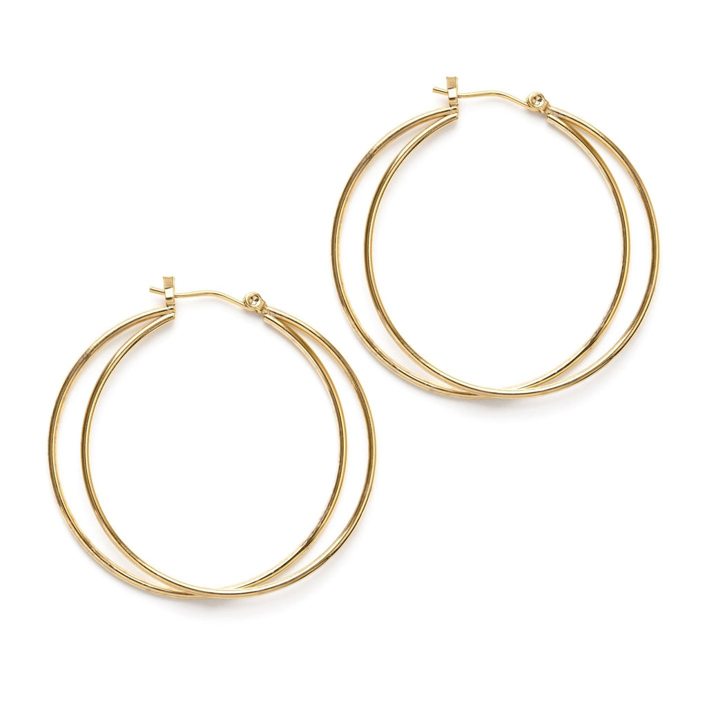 Eclipse Hoop Earring
