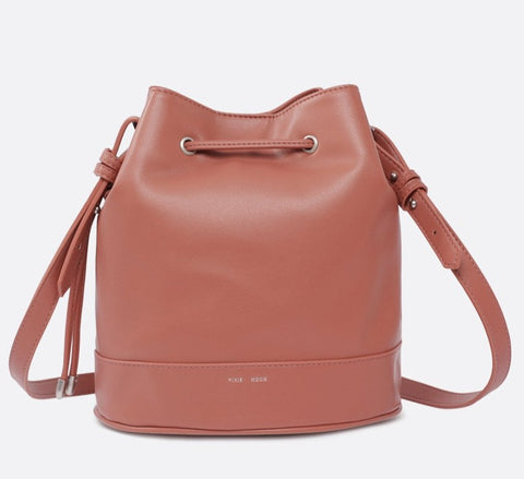 Amber Bucket Bag - Clay