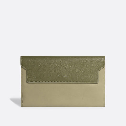 Bianca Travel Wallet - Olive
