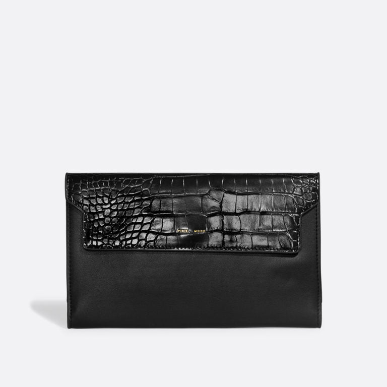 Bianca Travel Wallet - Black