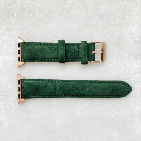 Runway Suede - Hunter Green