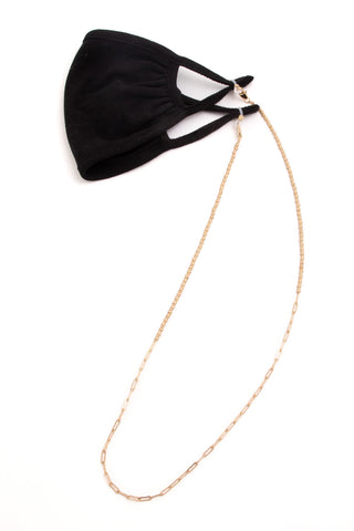 Ball and Paperclip Mask Chain