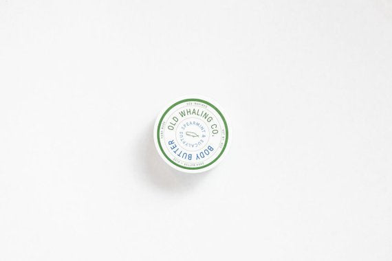 Spearmint + Eucalyptus Body Butter 2oz