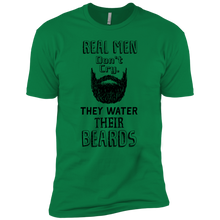 Beard Threads: Beard Shirts - Real Men Don't Cry