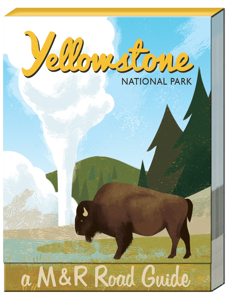 Yellowstone Pocket Note Pad