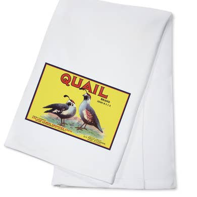 Quail Brand Kitchen Towel