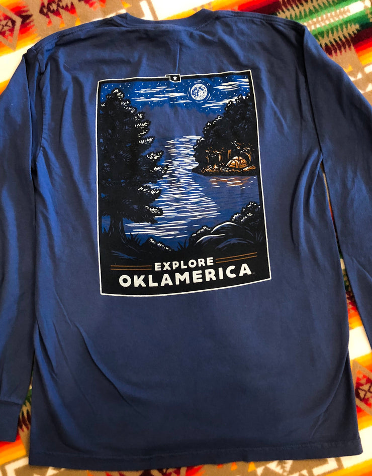 Oklahoma Lake Nights Long Sleeve
