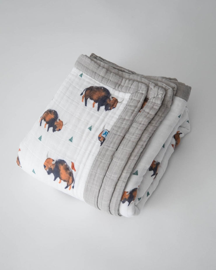 Bison Big Kid Quilt