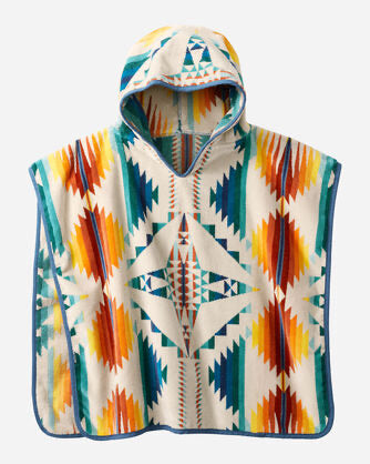 Falcon Cove Kids Hooded Towel - Pendleton