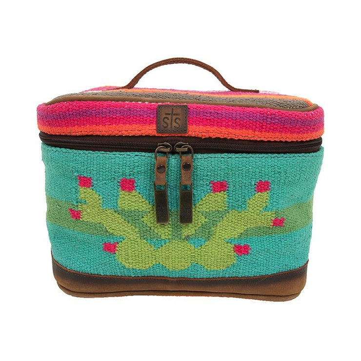 Serape Train Case