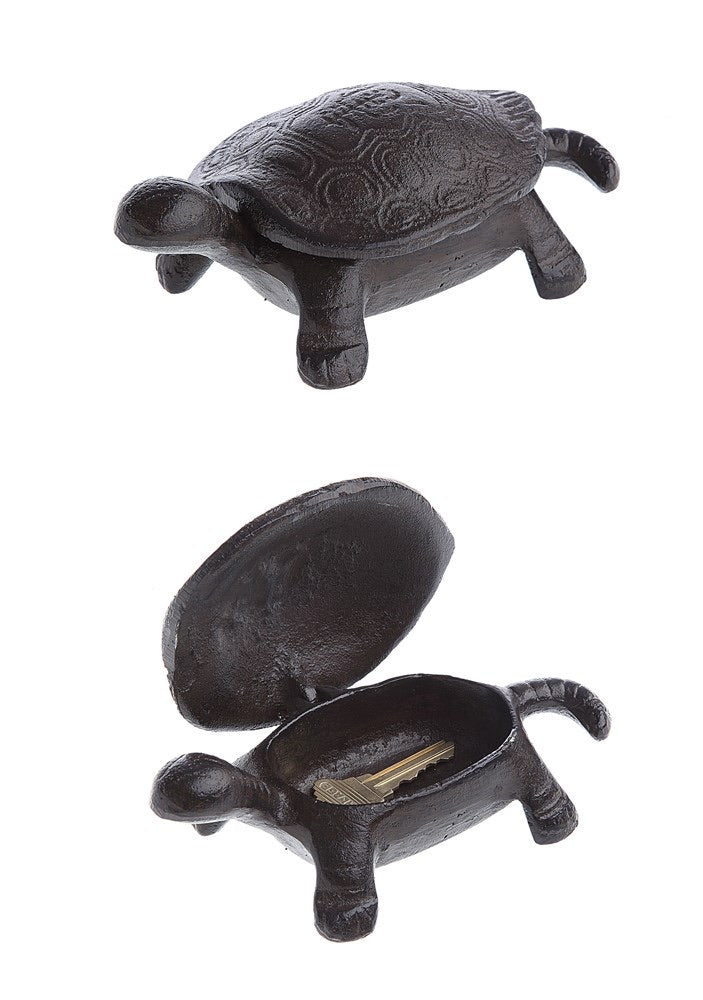 Cast Iron Turtle Key Box