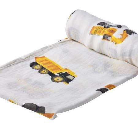 Yellow Equipment Swaddle