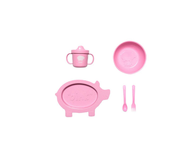 Pig Shaped Dish Set