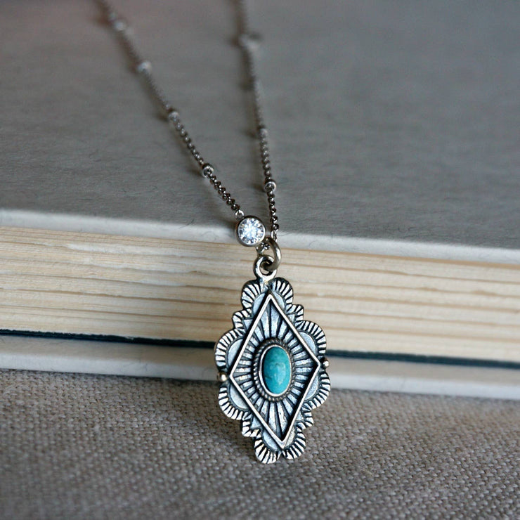 Leif Turquoise Necklace