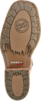 "Double H - 11"" Domestic Bison Wide Square Toe - Style #5305"