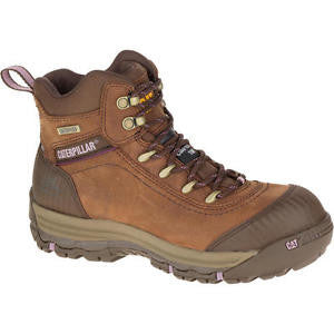 "Cat 90760 Women's 6"" Work Boot - Intermountain Safety Shoe"
