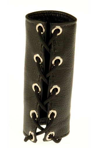 Lacing Leather Cock Sheath